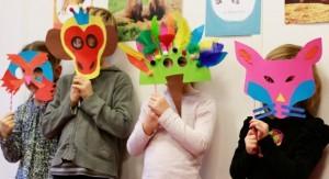 exemples de masques pour mardi gras