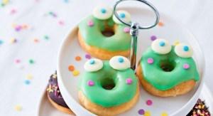 donuts grenouille pour mardi gras