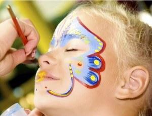 maquillage enfant mardi gras