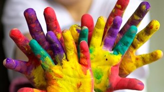 Recette de Peinture naturelle et comestible à fabriquer avec les enfants