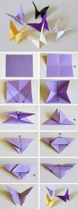 papillons origami