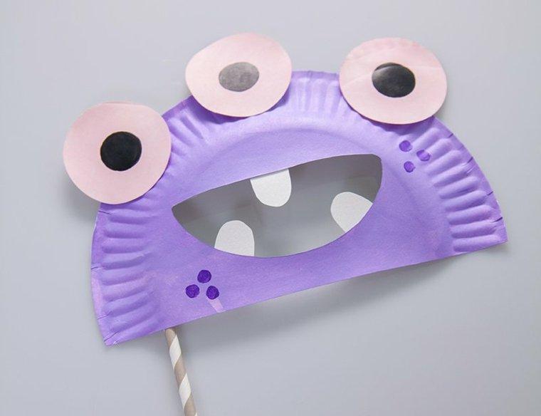 Assez masque-halloween-assiette2-carton-enfant-activite-manuelle AH73