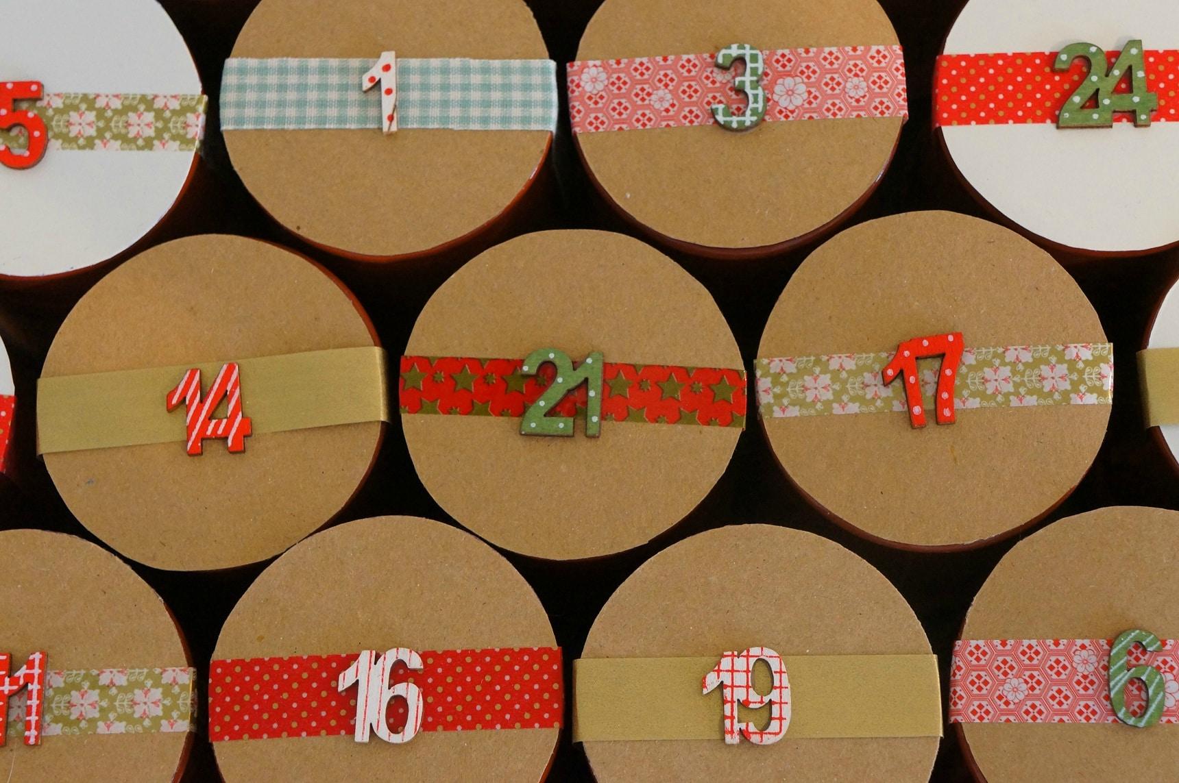 En route vers Noël, avec nos calendriers de l'Avent