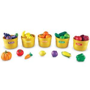 classer les couleurs avec les légumes Ausylphi
