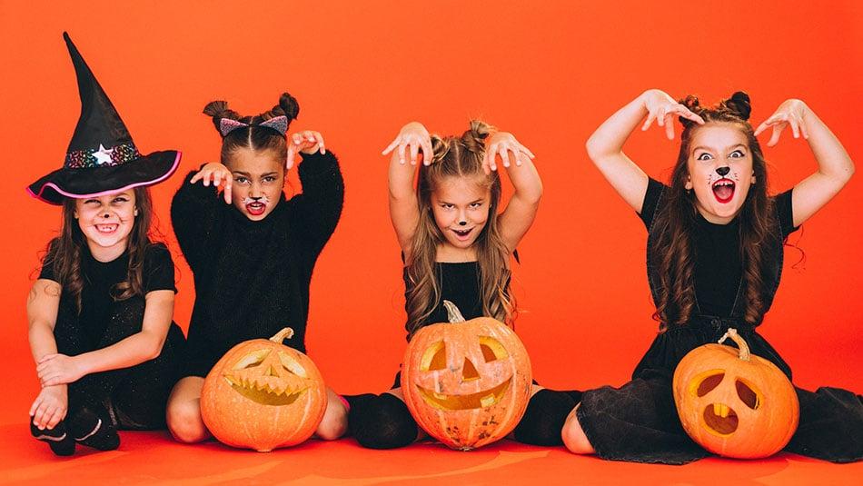 Nos idées terrifiantes de maquillage d'Halloween pour les enfants