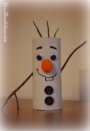 Bonhomme de neige, bricolage Noël