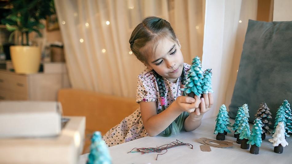 3 idées de bricolage de Noël pour les enfants